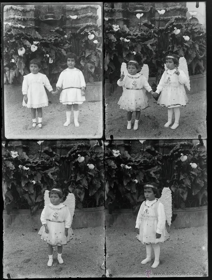 Fotografía antigua: Arenys de Mar, 1915s. Archivo de 450 cristales negativos del fotógrafo Joaquim Castells (1874-1941) - Foto 44 - 44337480