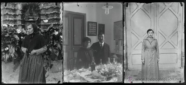Fotografía antigua: Arenys de Mar, 1915s. Archivo de 450 cristales negativos del fotógrafo Joaquim Castells (1874-1941) - Foto 45 - 44337480
