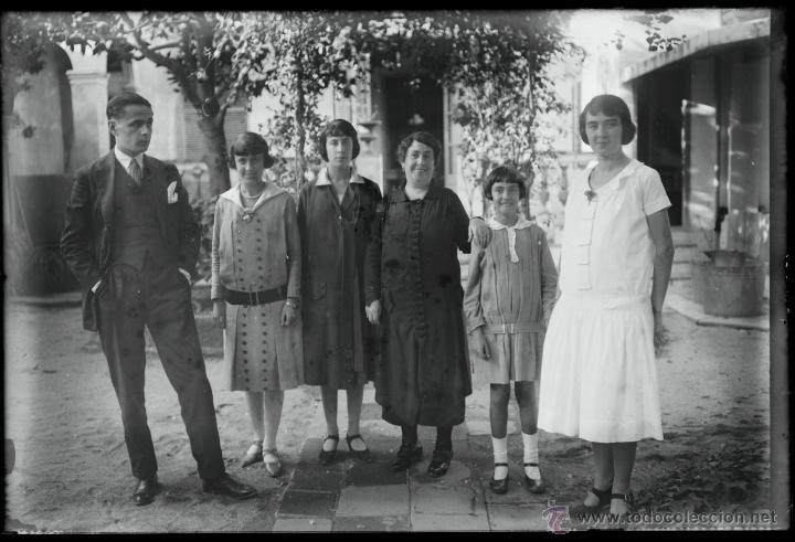 Fotografía antigua: Arenys de Mar, 1915s. Archivo de 450 cristales negativos del fotógrafo Joaquim Castells (1874-1941) - Foto 47 - 44337480