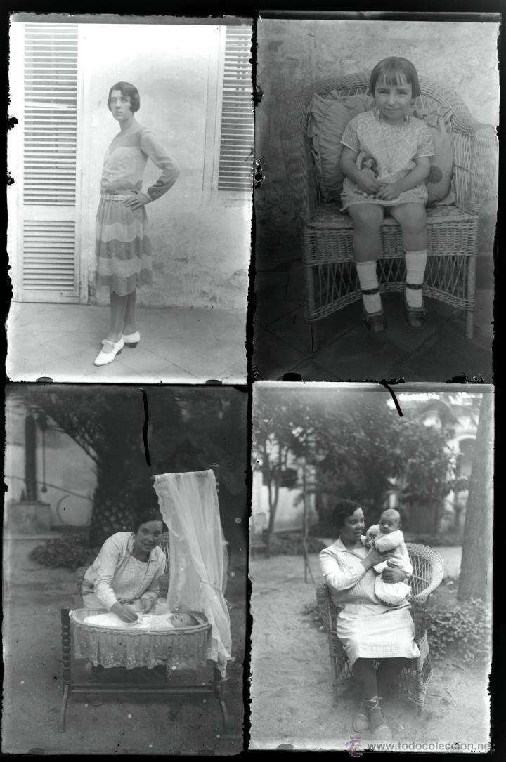 Fotografía antigua: Arenys de Mar, 1915s. Archivo de 450 cristales negativos del fotógrafo Joaquim Castells (1874-1941) - Foto 48 - 44337480
