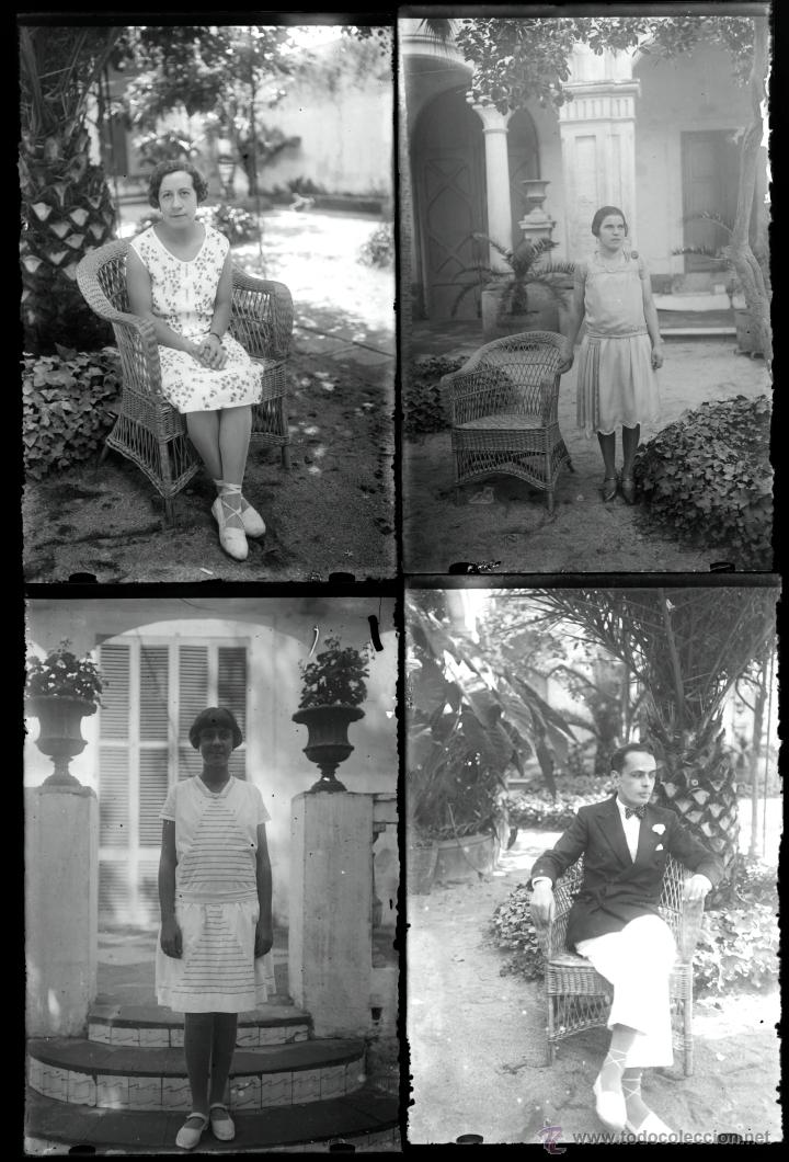 Fotografía antigua: Arenys de Mar, 1915s. Archivo de 450 cristales negativos del fotógrafo Joaquim Castells (1874-1941) - Foto 49 - 44337480