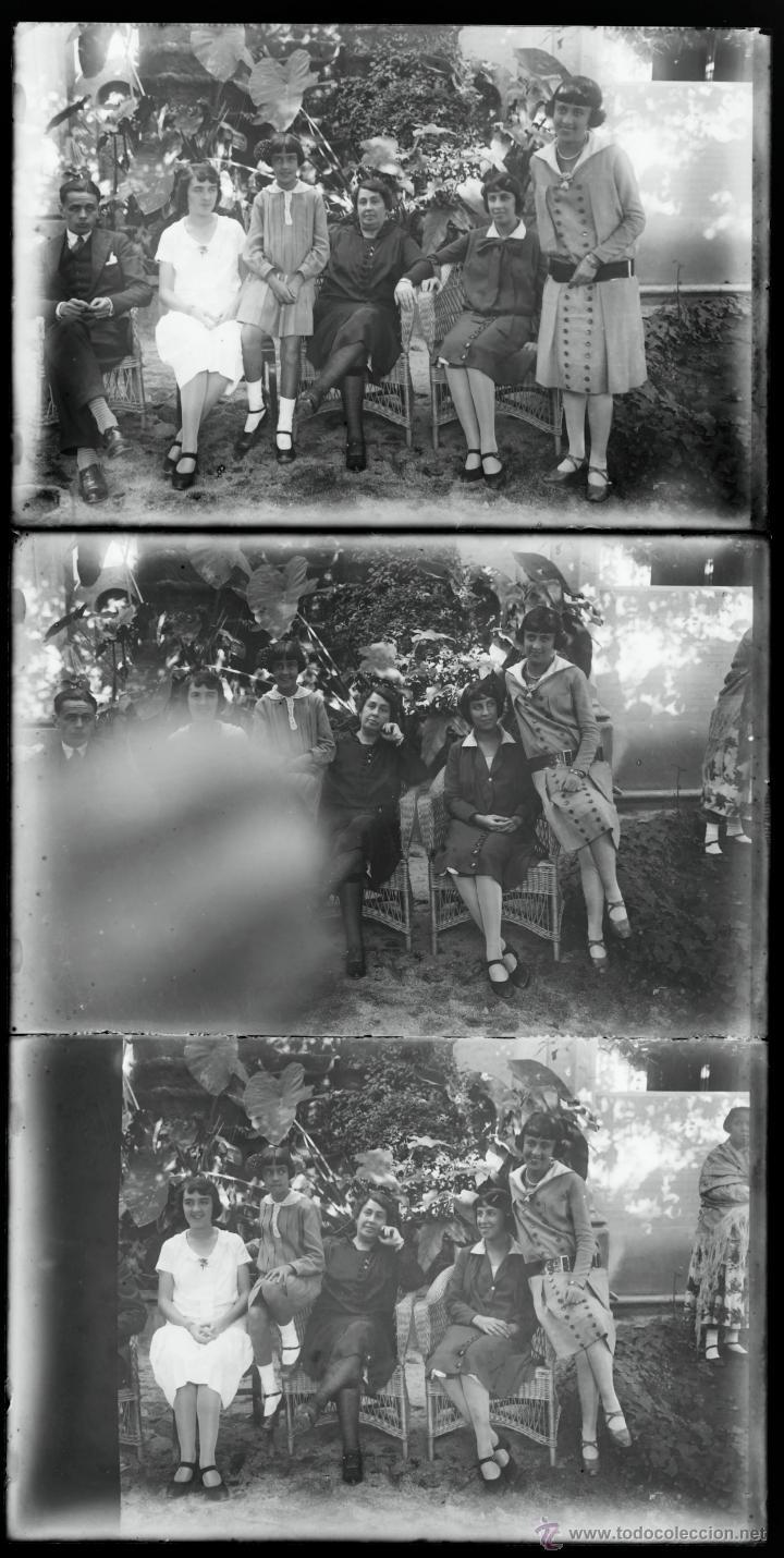 Fotografía antigua: Arenys de Mar, 1915s. Archivo de 450 cristales negativos del fotógrafo Joaquim Castells (1874-1941) - Foto 50 - 44337480