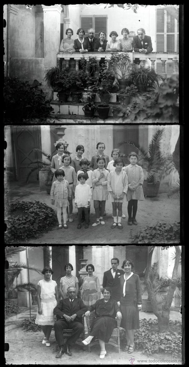 Fotografía antigua: Arenys de Mar, 1915s. Archivo de 450 cristales negativos del fotógrafo Joaquim Castells (1874-1941) - Foto 53 - 44337480