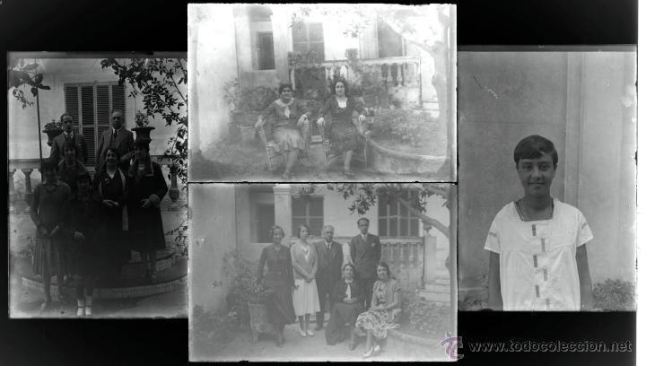Fotografía antigua: Arenys de Mar, 1915s. Archivo de 450 cristales negativos del fotógrafo Joaquim Castells (1874-1941) - Foto 55 - 44337480
