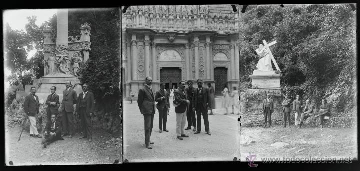 Fotografía antigua: Arenys de Mar, 1915s. Archivo de 450 cristales negativos del fotógrafo Joaquim Castells (1874-1941) - Foto 58 - 44337480