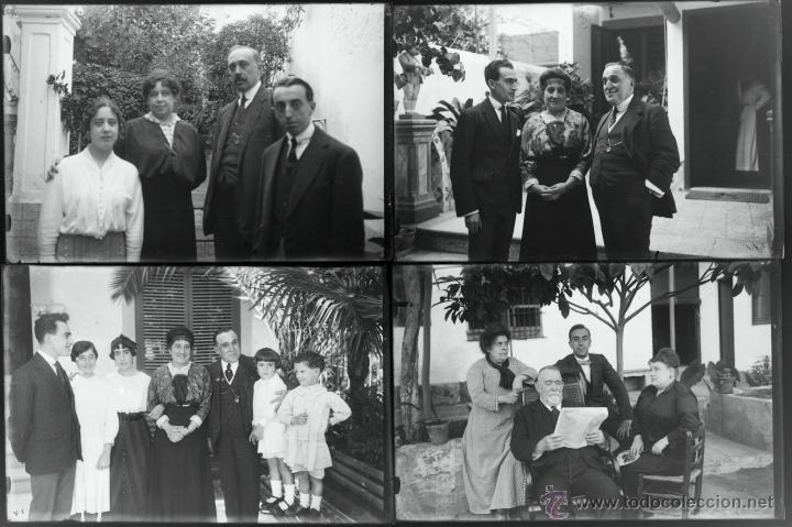 Fotografía antigua: Arenys de Mar, 1915s. Archivo de 450 cristales negativos del fotógrafo Joaquim Castells (1874-1941) - Foto 59 - 44337480