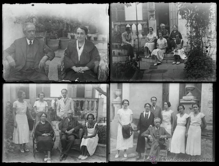 Fotografía antigua: Arenys de Mar, 1915s. Archivo de 450 cristales negativos del fotógrafo Joaquim Castells (1874-1941) - Foto 60 - 44337480
