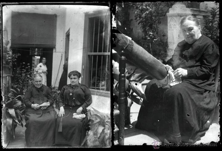 Fotografía antigua: Arenys de Mar, 1915s. Archivo de 450 cristales negativos del fotógrafo Joaquim Castells (1874-1941) - Foto 61 - 44337480