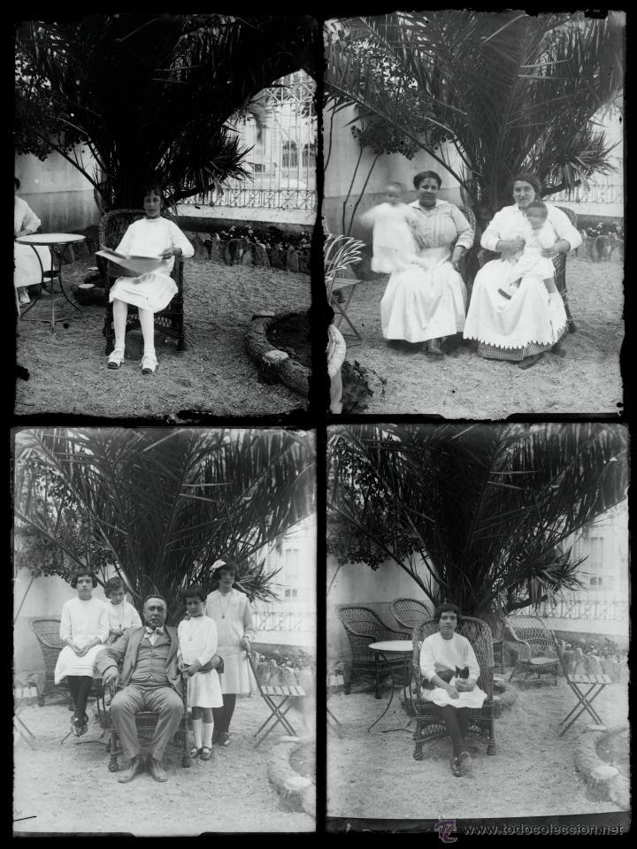 Fotografía antigua: Arenys de Mar, 1915s. Archivo de 450 cristales negativos del fotógrafo Joaquim Castells (1874-1941) - Foto 62 - 44337480