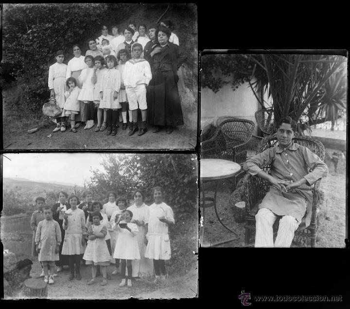 Fotografía antigua: Arenys de Mar, 1915s. Archivo de 450 cristales negativos del fotógrafo Joaquim Castells (1874-1941) - Foto 63 - 44337480