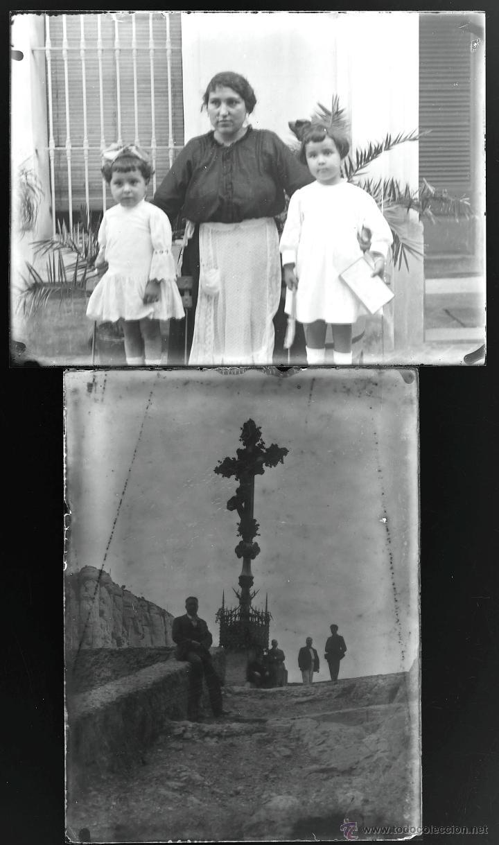 Fotografía antigua: Arenys de Mar, 1915s. Archivo de 450 cristales negativos del fotógrafo Joaquim Castells (1874-1941) - Foto 64 - 44337480