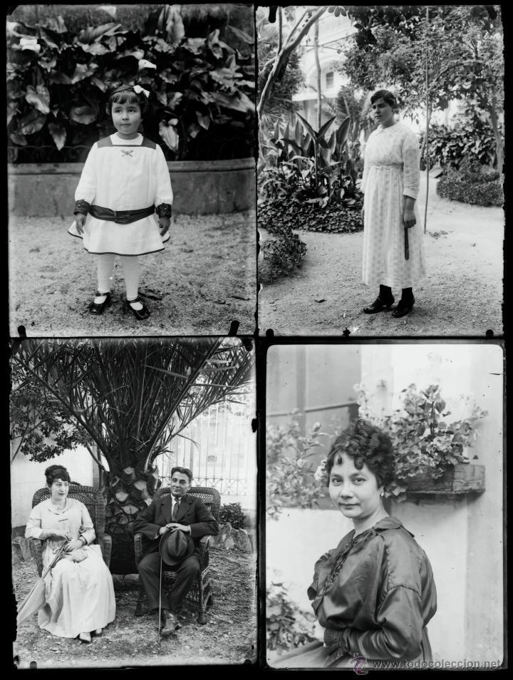 Fotografía antigua: Arenys de Mar, 1915s. Archivo de 450 cristales negativos del fotógrafo Joaquim Castells (1874-1941) - Foto 66 - 44337480