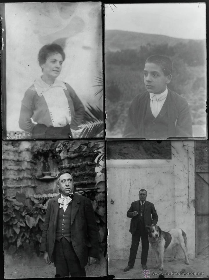 Fotografía antigua: Arenys de Mar, 1915s. Archivo de 450 cristales negativos del fotógrafo Joaquim Castells (1874-1941) - Foto 67 - 44337480