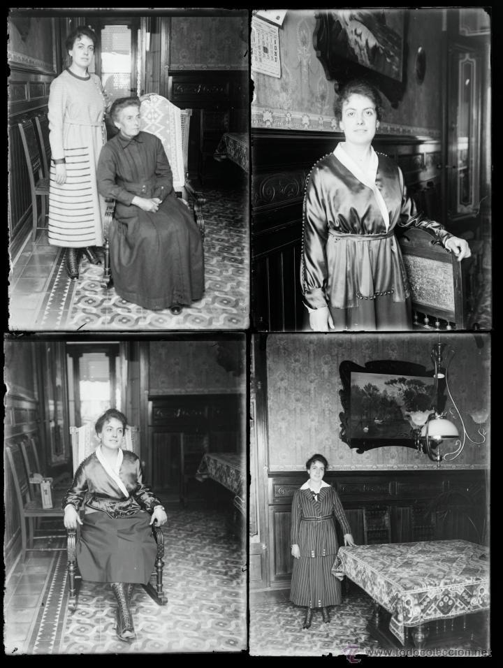 Fotografía antigua: Arenys de Mar, 1915s. Archivo de 450 cristales negativos del fotógrafo Joaquim Castells (1874-1941) - Foto 68 - 44337480