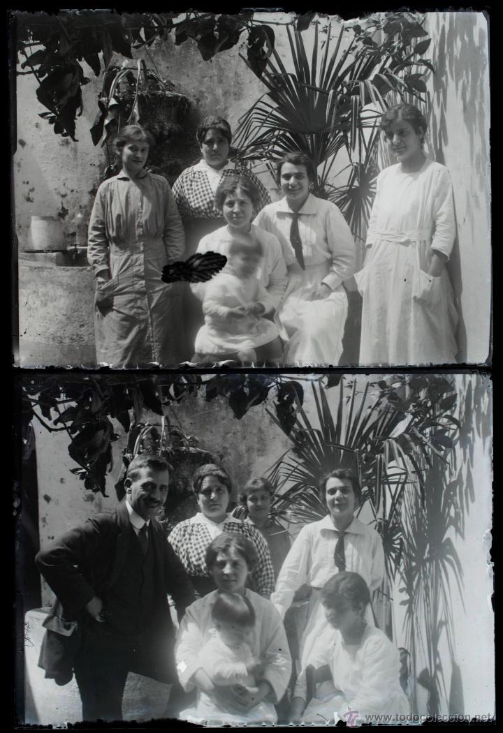 Fotografía antigua: Arenys de Mar, 1915s. Archivo de 450 cristales negativos del fotógrafo Joaquim Castells (1874-1941) - Foto 69 - 44337480