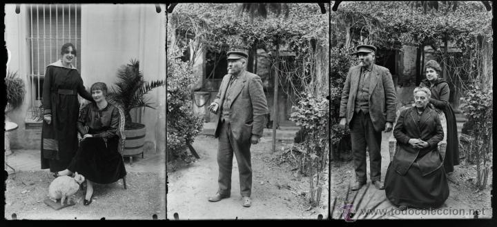 Fotografía antigua: Arenys de Mar, 1915s. Archivo de 450 cristales negativos del fotógrafo Joaquim Castells (1874-1941) - Foto 70 - 44337480