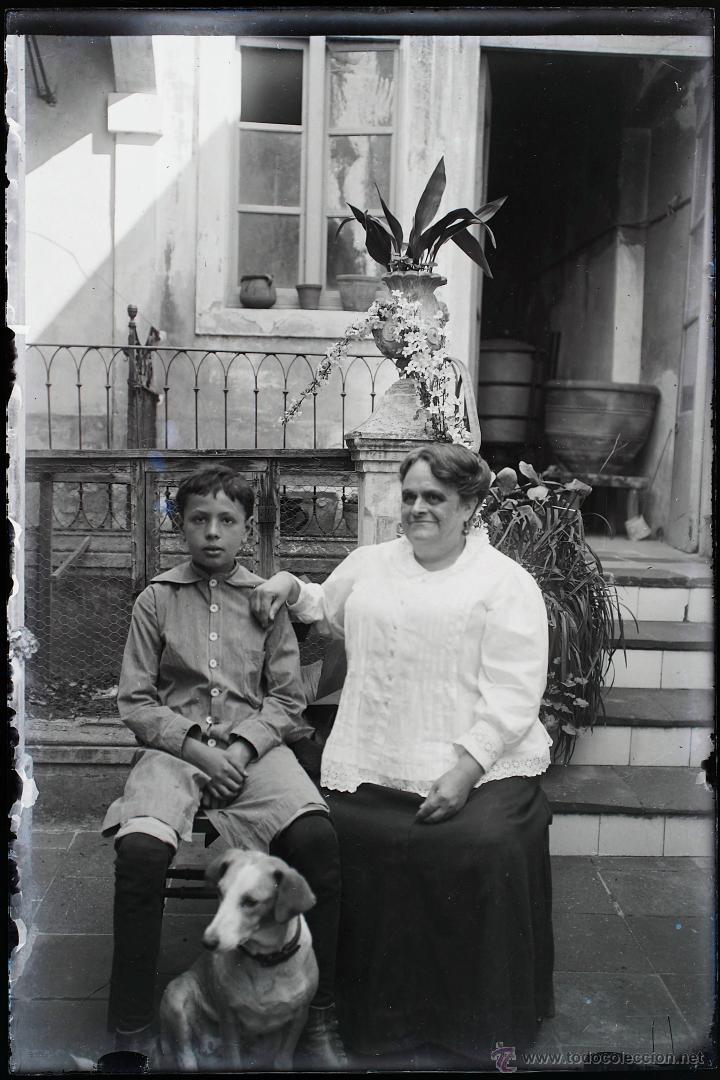 Fotografía antigua: Arenys de Mar, 1915s. Archivo de 450 cristales negativos del fotógrafo Joaquim Castells (1874-1941) - Foto 72 - 44337480
