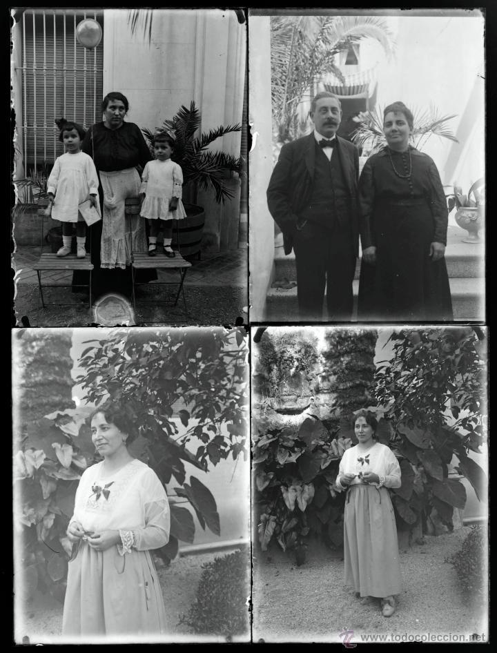 Fotografía antigua: Arenys de Mar, 1915s. Archivo de 450 cristales negativos del fotógrafo Joaquim Castells (1874-1941) - Foto 73 - 44337480