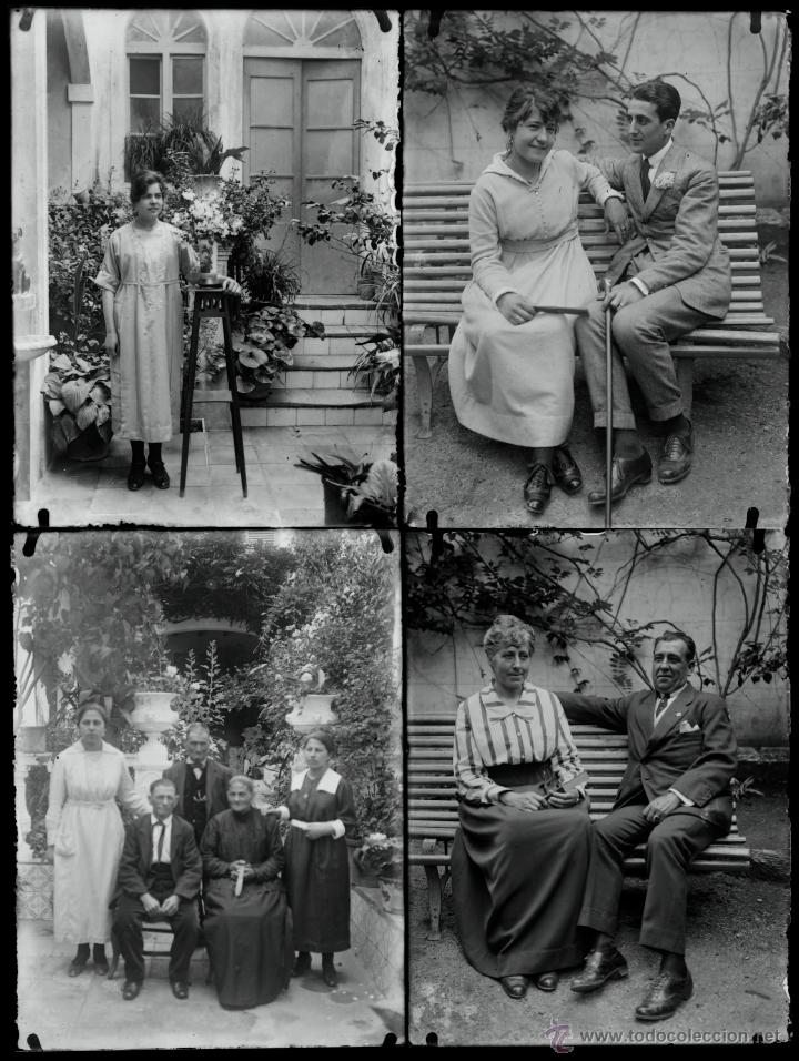Fotografía antigua: Arenys de Mar, 1915s. Archivo de 450 cristales negativos del fotógrafo Joaquim Castells (1874-1941) - Foto 74 - 44337480