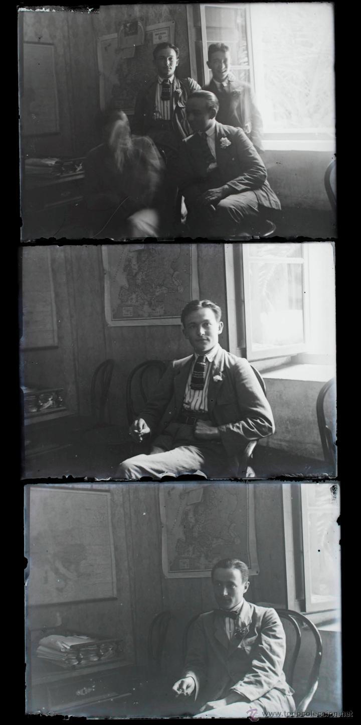 Fotografía antigua: Arenys de Mar, 1915s. Archivo de 450 cristales negativos del fotógrafo Joaquim Castells (1874-1941) - Foto 76 - 44337480