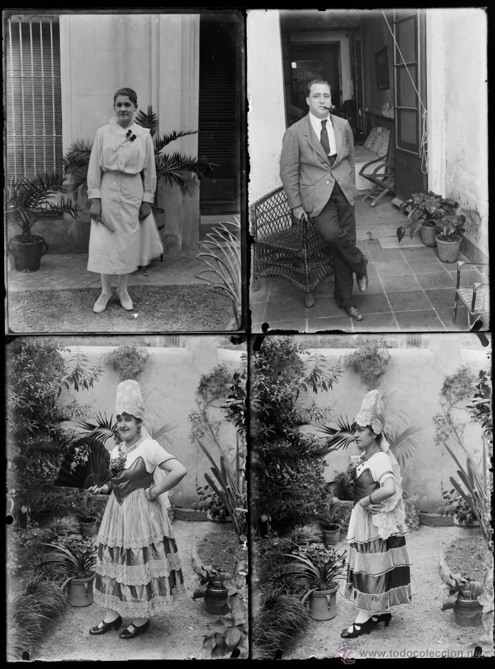 Fotografía antigua: Arenys de Mar, 1915s. Archivo de 450 cristales negativos del fotógrafo Joaquim Castells (1874-1941) - Foto 77 - 44337480