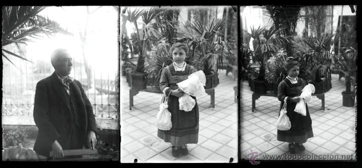 Fotografía antigua: Arenys de Mar, 1915s. Archivo de 450 cristales negativos del fotógrafo Joaquim Castells (1874-1941) - Foto 78 - 44337480