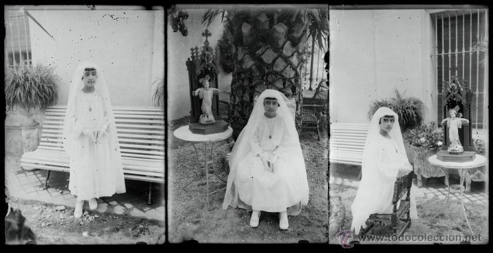 Fotografía antigua: Arenys de Mar, 1915s. Archivo de 450 cristales negativos del fotógrafo Joaquim Castells (1874-1941) - Foto 81 - 44337480