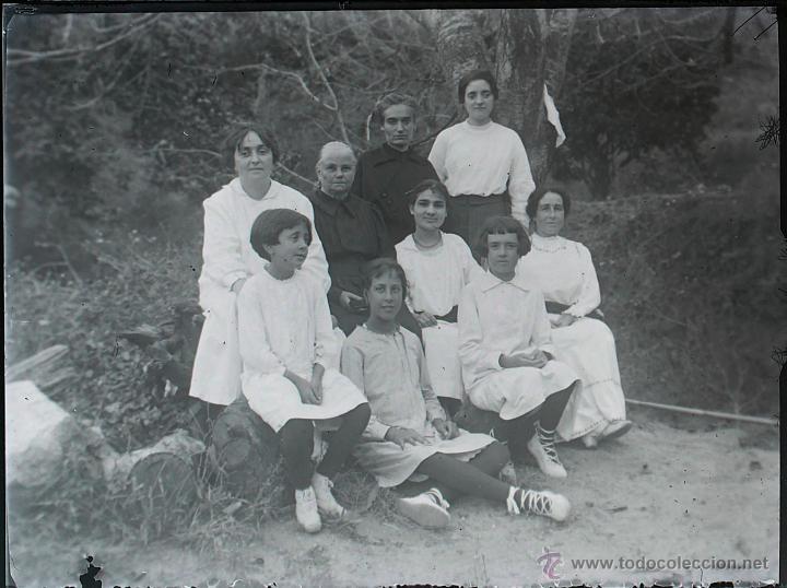 Fotografía antigua: Arenys de Mar, 1915s. Archivo de 450 cristales negativos del fotógrafo Joaquim Castells (1874-1941) - Foto 82 - 44337480