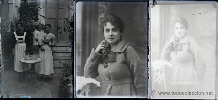 Fotografía antigua: Arenys de Mar, 1915s. Archivo de 450 cristales negativos del fotógrafo Joaquim Castells (1874-1941) - Foto 83 - 44337480