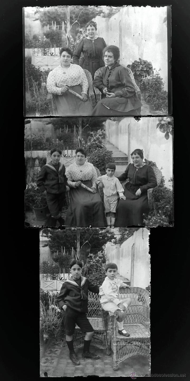 Fotografía antigua: Arenys de Mar, 1915s. Archivo de 450 cristales negativos del fotógrafo Joaquim Castells (1874-1941) - Foto 84 - 44337480