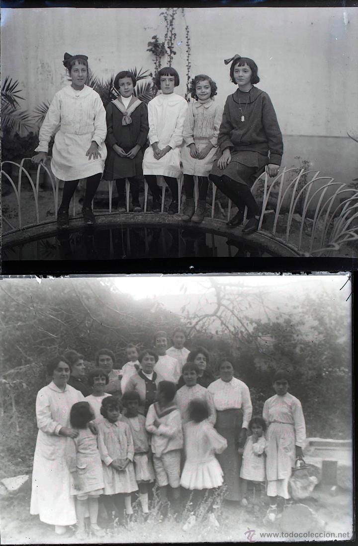 Fotografía antigua: Arenys de Mar, 1915s. Archivo de 450 cristales negativos del fotógrafo Joaquim Castells (1874-1941) - Foto 88 - 44337480