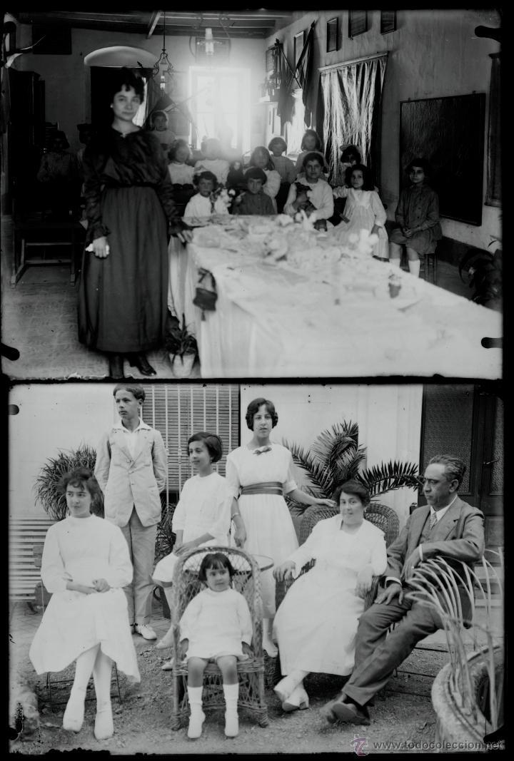 Fotografía antigua: Arenys de Mar, 1915s. Archivo de 450 cristales negativos del fotógrafo Joaquim Castells (1874-1941) - Foto 89 - 44337480