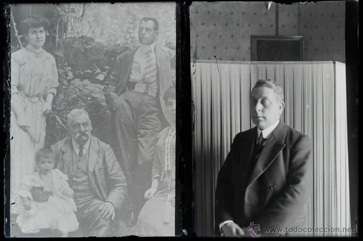 Fotografía antigua: Arenys de Mar, 1915s. Archivo de 450 cristales negativos del fotógrafo Joaquim Castells (1874-1941) - Foto 90 - 44337480