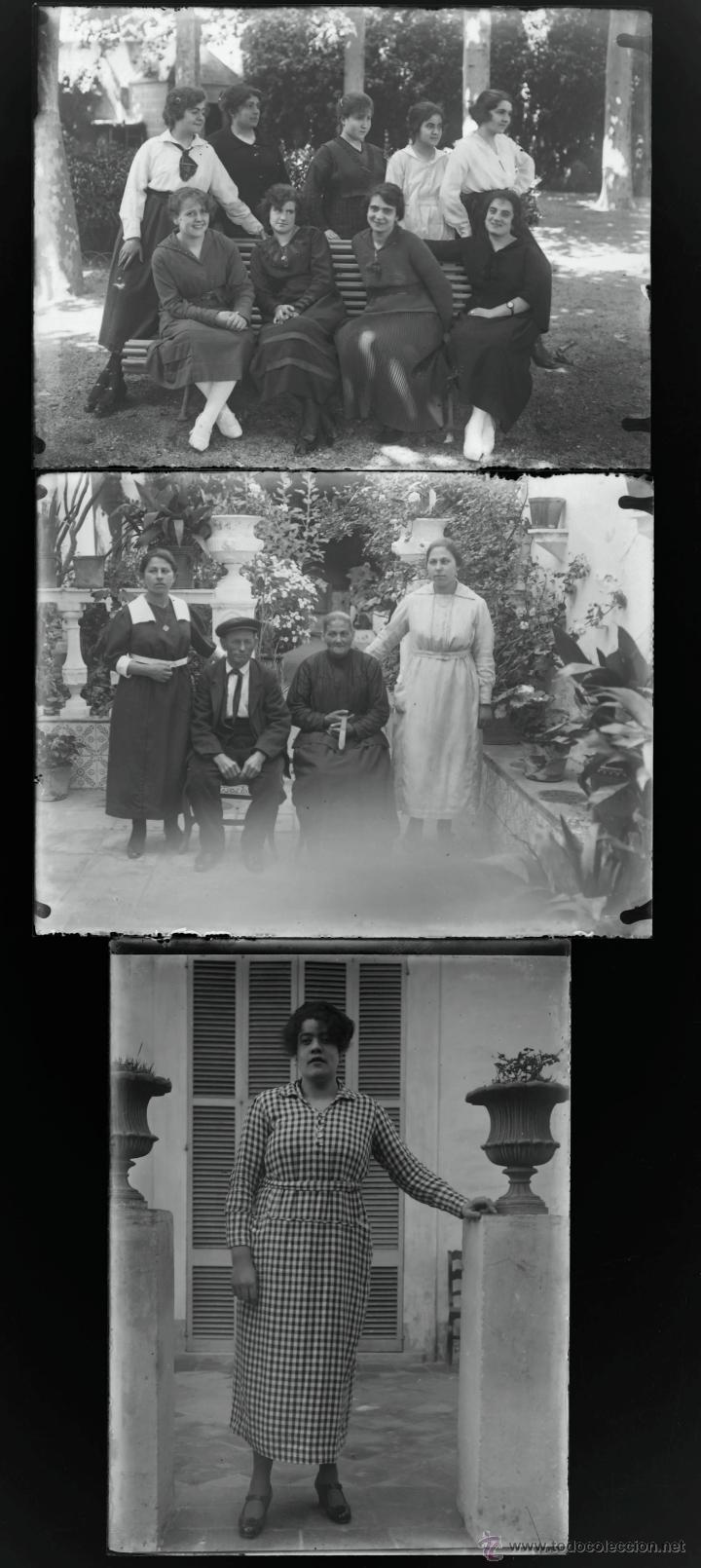 Fotografía antigua: Arenys de Mar, 1915s. Archivo de 450 cristales negativos del fotógrafo Joaquim Castells (1874-1941) - Foto 91 - 44337480