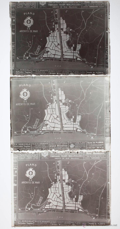 Fotografía antigua: Arenys de Mar, 1915s. Archivo de 450 cristales negativos del fotógrafo Joaquim Castells (1874-1941) - Foto 92 - 44337480