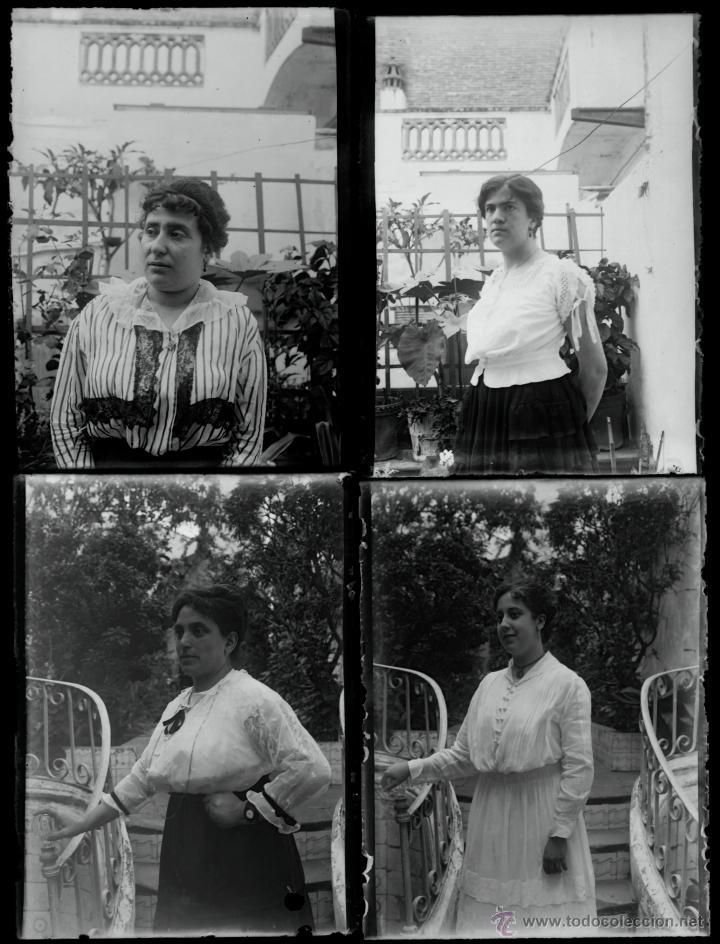 Fotografía antigua: Arenys de Mar, 1915s. Archivo de 450 cristales negativos del fotógrafo Joaquim Castells (1874-1941) - Foto 94 - 44337480