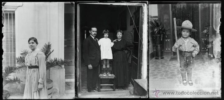 Fotografía antigua: Arenys de Mar, 1915s. Archivo de 450 cristales negativos del fotógrafo Joaquim Castells (1874-1941) - Foto 96 - 44337480