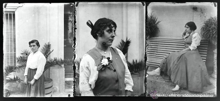 Fotografía antigua: Arenys de Mar, 1915s. Archivo de 450 cristales negativos del fotógrafo Joaquim Castells (1874-1941) - Foto 97 - 44337480