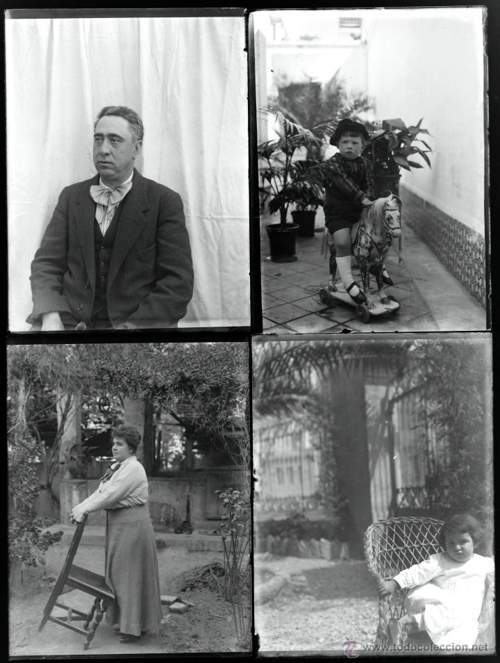 Fotografía antigua: Arenys de Mar, 1915s. Archivo de 450 cristales negativos del fotógrafo Joaquim Castells (1874-1941) - Foto 98 - 44337480