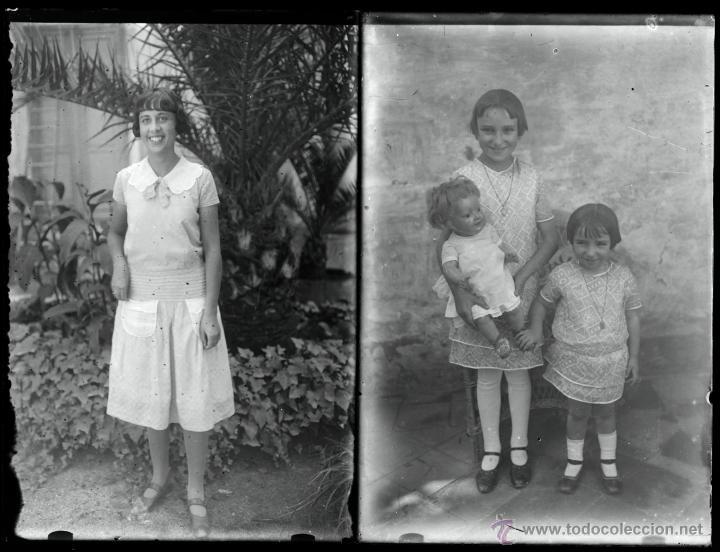 Fotografía antigua: Arenys de Mar, 1915s. Archivo de 450 cristales negativos del fotógrafo Joaquim Castells (1874-1941) - Foto 99 - 44337480