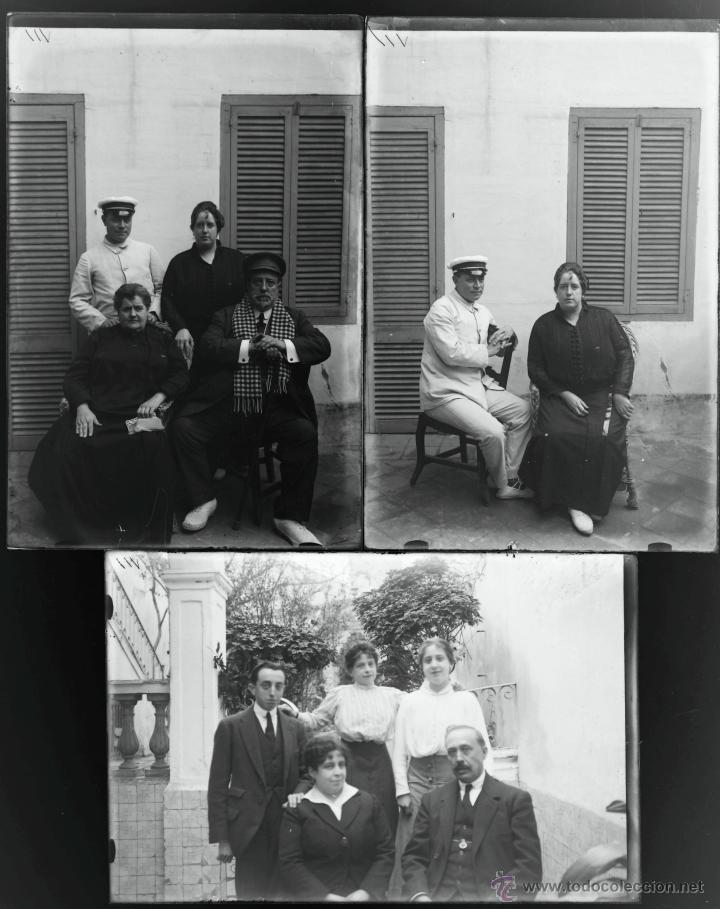 Fotografía antigua: Arenys de Mar, 1915s. Archivo de 450 cristales negativos del fotógrafo Joaquim Castells (1874-1941) - Foto 100 - 44337480