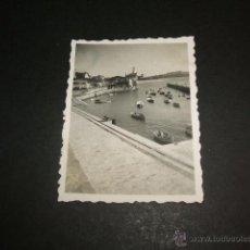 Fotografía antigua: NEGURI VIZCAYA PUERTO PESQUERO FOTOGRAFIA 1946 6 X 4,5 CMTS. Lote 44345215