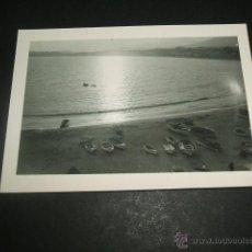Fotografía antigua: BENIDORM ALICANTE PLAYA ANTIGUA FOTOGRAFIA. Lote 44410339