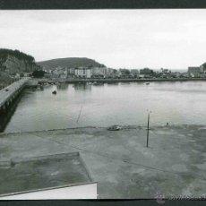 Fotografía antigua: RIBADESELLA. ASTURIAS. PUENTE DE LA RÍA. C. 1972-75. Lote 44763027