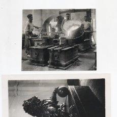 Fotografía antigua: LOTE DE 7 FOTOGRAFIAS DE LA FABRICA DE ARTILLERIA DE SEVILLA. AÑOS 20. Lote 44864811
