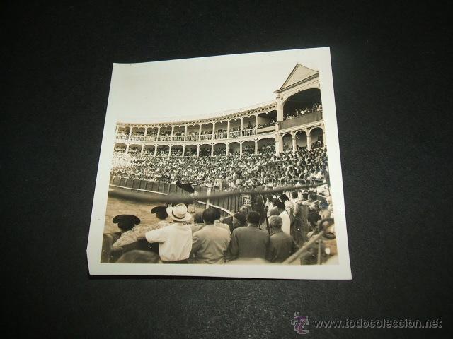 ARANJUEZ MADRID PLAZA DE TOROS ANTIGUA FOTOGRAFÍA AÑOS 40 (Fotografía Antigua - Gelatinobromuro)