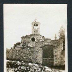 Fotografía antigua: IGLESIA. PAISAJE NEVADO. LUGAR SIN IDENTIFICAR. CATALUNYA. C. 1920. Lote 45219074