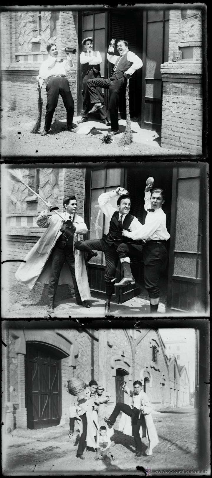 Fotografía antigua: Arenys de Mar, 1915s. Archivo de 450 cristales negativos del fotógrafo Joaquim Castells (1874-1941) - Foto 105 - 44337480
