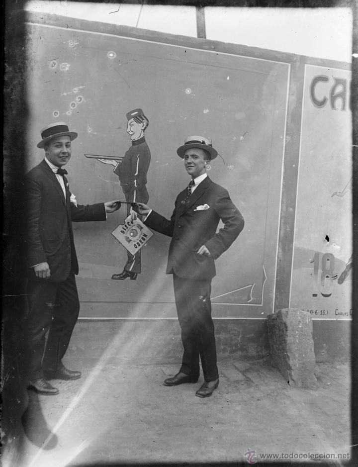 Fotografía antigua: Arenys de Mar, 1915s. Archivo de 450 cristales negativos del fotógrafo Joaquim Castells (1874-1941) - Foto 106 - 44337480