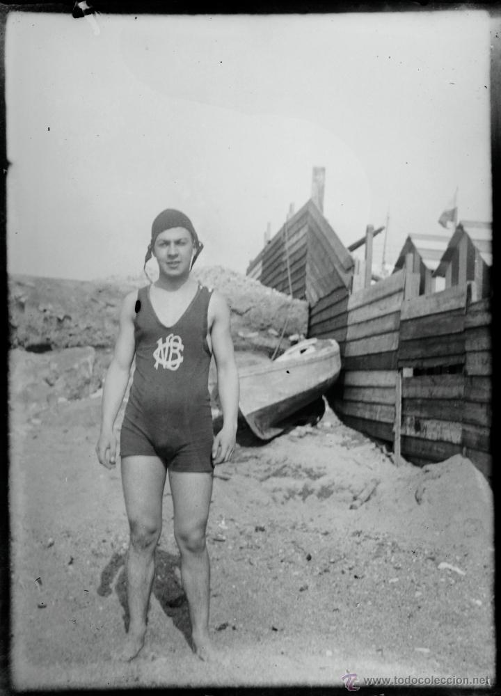 Fotografía antigua: Arenys de Mar, 1915s. Archivo de 450 cristales negativos del fotógrafo Joaquim Castells (1874-1941) - Foto 107 - 44337480